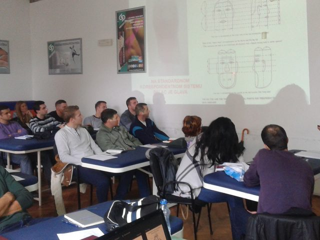 Predavanje u VMS Zemun, oktobar 2016